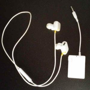 Bluetooth対応 ワイヤレスイヤホンと送信機