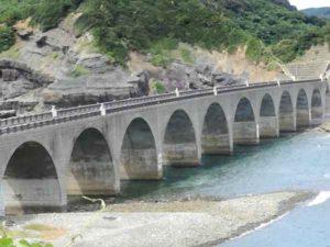 甑島 鹿の子大橋