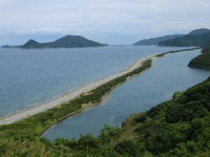 甑島 長目の浜