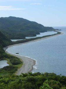 甑島観光 長目の浜展望所