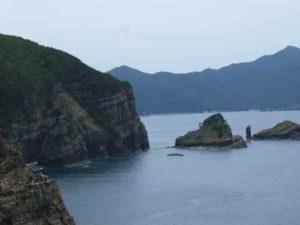 鳥ノ巣山展望台からの景色